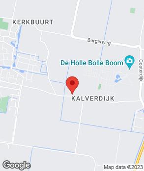 Locatie Garagebedrijf Mart Hof B.V. op kaart