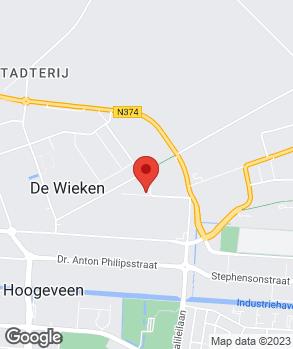 Locatie Garage Veldman op kaart