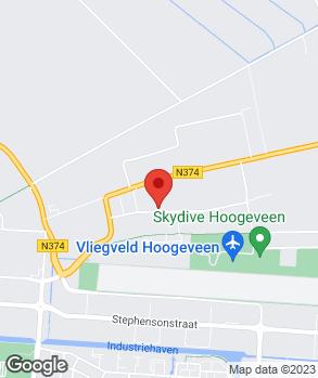 Locatie Hofman's Autocentrum op kaart