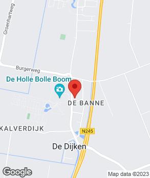 Locatie A.C.M. Occasions Industrieterrein De Banne BV op kaart