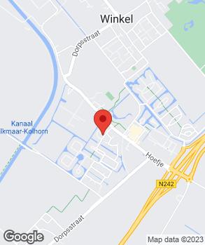 Locatie Zuurbier Services op kaart