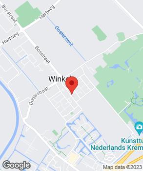 Locatie Techno Service Winkel op kaart