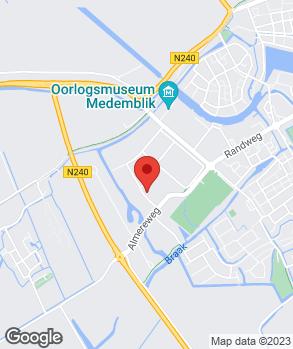 Locatie Van der Wijngaart V.O.F. op kaart