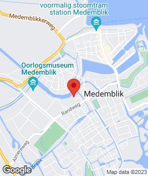 Locatie Ben Kooij op kaart