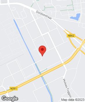 Locatie Autohandel Bakker op kaart
