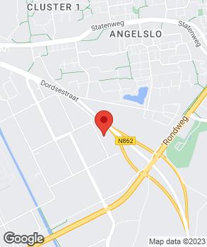 Locatie Garage Jagt Emmen op kaart