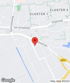 Locatie Louwes Autocenters op kaart