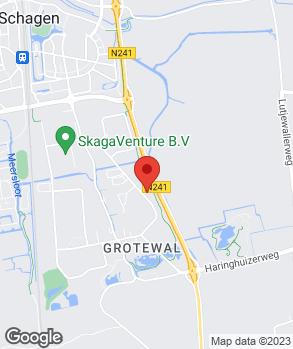 Locatie Cremers Schagen B.V. op kaart