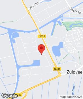 Locatie Hofman Banden B.V. op kaart