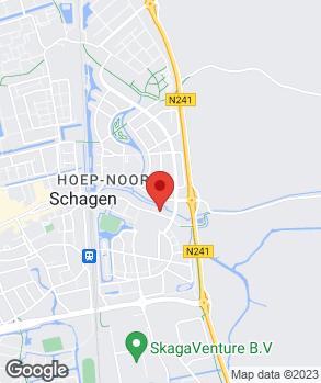 Locatie H. Bart op kaart