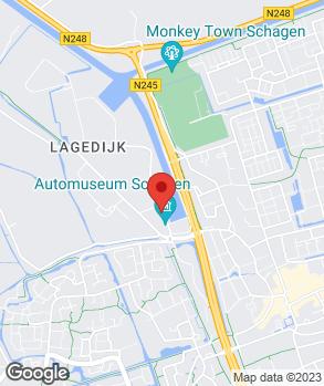 Locatie Autobedrijf Van Vliet op kaart
