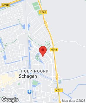 Locatie Autohuis Janson op kaart