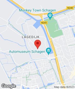 Locatie Autobedrijf Ten Boekel & Bakker Schagen B.V. op kaart