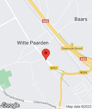 Locatie Auto K. Brouwer op kaart
