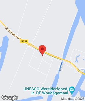 Locatie Autobedrijf Van der Horst Lemmer B.V. op kaart