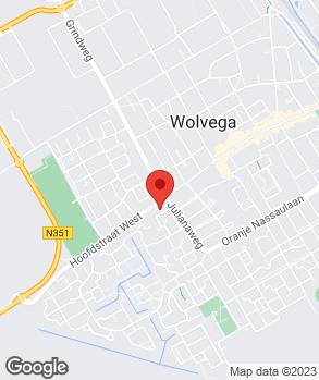 Locatie Auto Wolvega op kaart