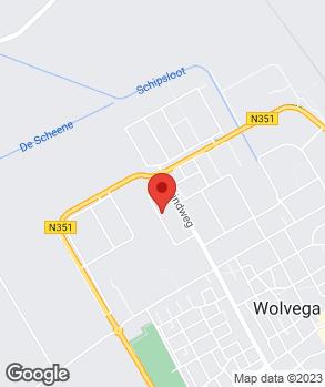 Locatie Gerard Kramer op kaart