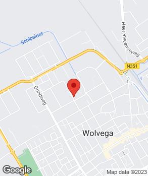 Locatie V.O.F. Hielkema op kaart