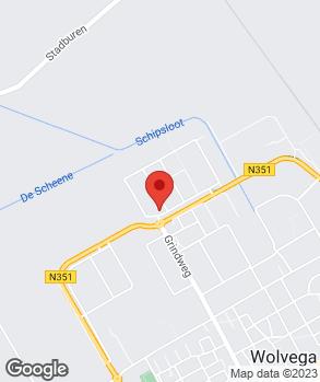 Locatie Automobielbedrijf D. Sutherland Wolvega B.V. op kaart
