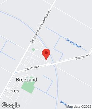 Locatie Garagebedrijf De Block op kaart