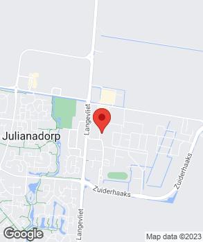 Locatie Theo Zuiderduin op kaart