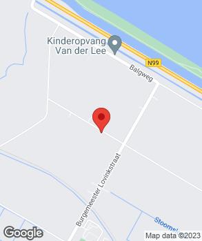 Locatie Cees Vlaar op kaart