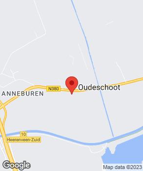 Locatie Autobedrijf Van der Meulen op kaart