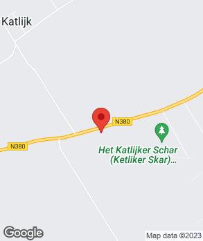 Locatie Garagebedrijf K. Zwier V.O.F. op kaart