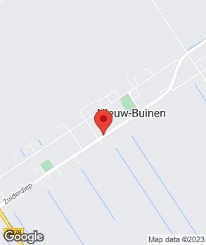 Locatie Dorpsgarage Nieuw-Buinen op kaart