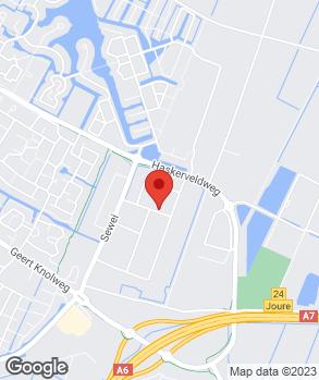 Locatie Autoservice Hoekstra op kaart