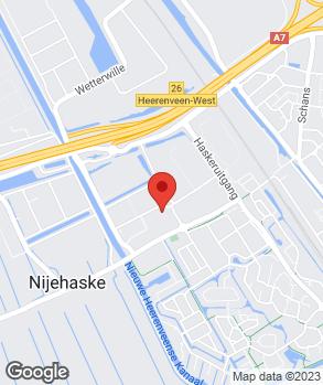 Locatie Banden en Autosnelservice Heerenveen B.V. op kaart