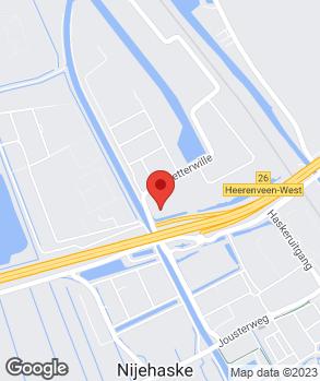 Locatie Euromaster Heerenveen op kaart