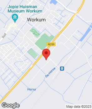 Locatie Speerstra Workum op kaart