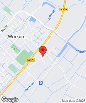 Locatie Van der Veen Autoservice op kaart