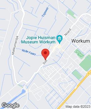 Locatie Autobedrijf Ivo de Boer op kaart