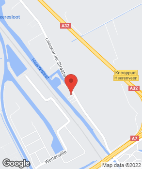 Locatie V.O.F. Autobedrijf O. van der Molen op kaart