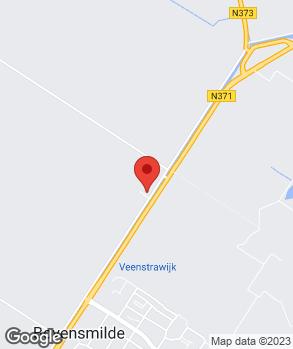 Locatie Autoservice Jans Hoogeveen op kaart