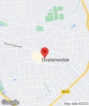 Locatie M. de Jong op kaart