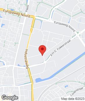 Locatie Autohandel Veeninga op kaart