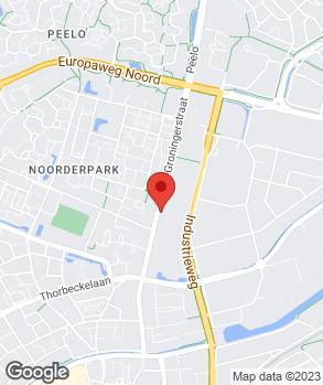 Locatie Lasbedrijf Ebelties op kaart
