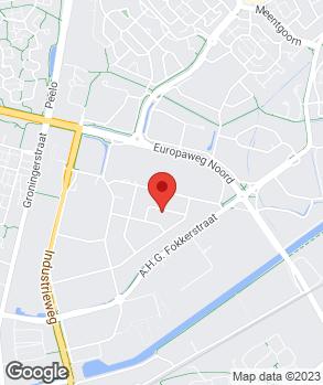 Locatie Auto Service Martin Kiewiet op kaart