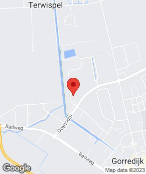 Locatie R. Haasjes op kaart