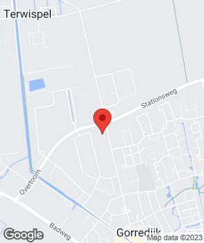 Locatie Garagebedrijf J. de Vries op kaart