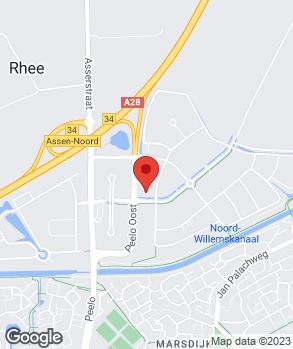 Locatie Broekhuis Assen op kaart