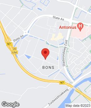 Locatie Autoservice Aissa & de Vries op kaart