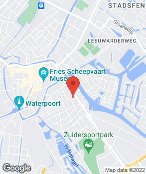 Locatie Autobedrijf Hijlkema Sneek op kaart
