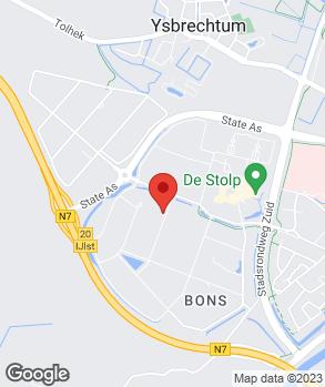 Locatie Autoservicebedrijf W. Slump op kaart