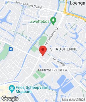 Locatie Garagebedrijf Betten B.V. op kaart