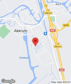 Locatie Dijkstra Cars op kaart