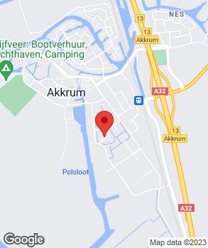 Locatie Autoservice R. van der Heide op kaart